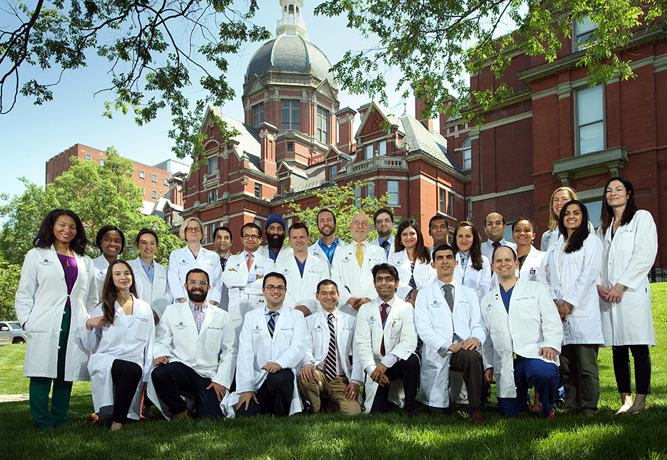 cardiology fellows group picture