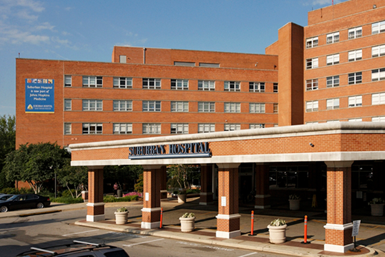 picture of suburban hospital