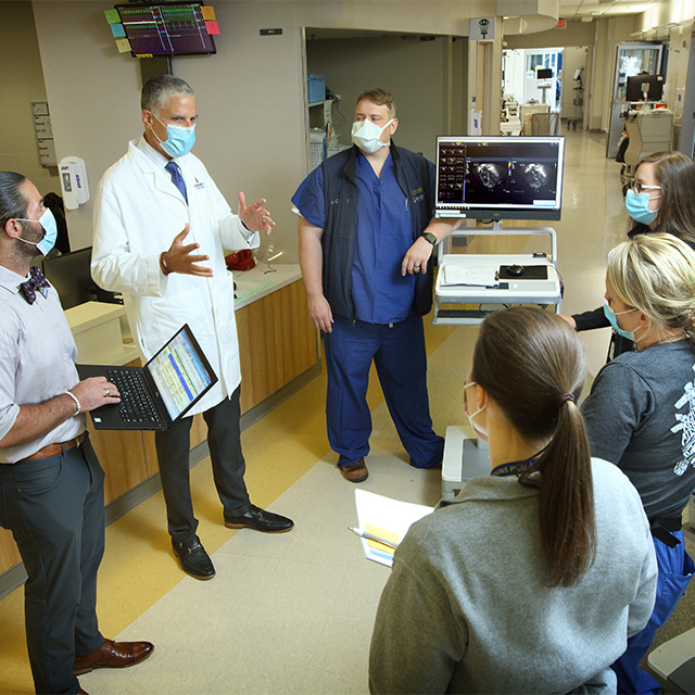 Rounds in the PCICU