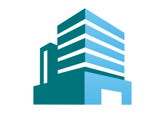 facilities icon in teal