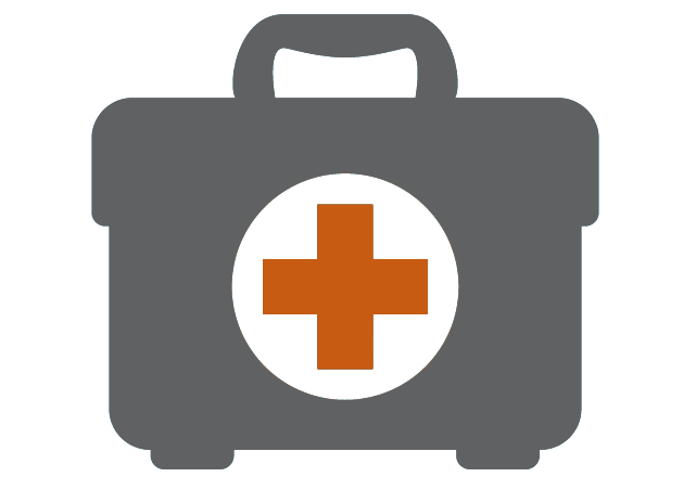 pediatric anesthesiology - medical kit icon