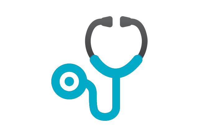 pediatric anesthesiology - stethoscope icon