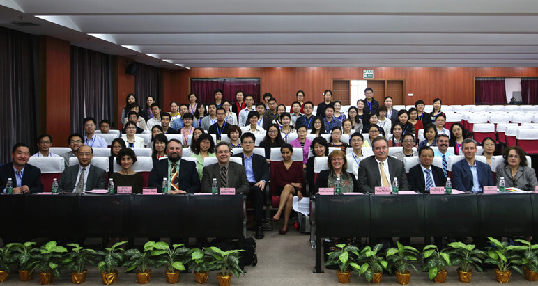 Picture of Lecture room after final recording for Sun Yat-sen University e-learning modules