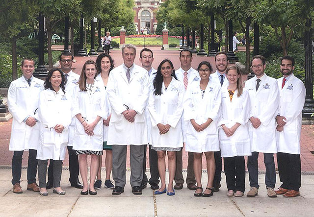 3rd Year Fellows with Dr. Donehower.