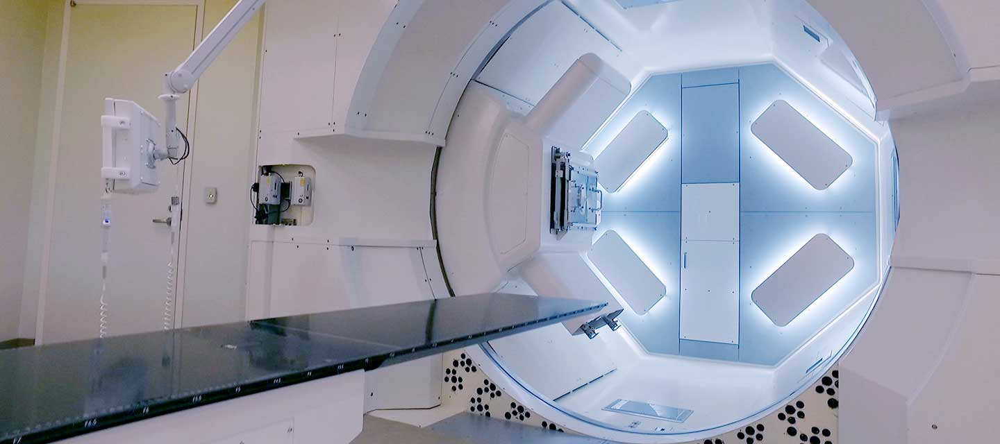 proton therapy gantry