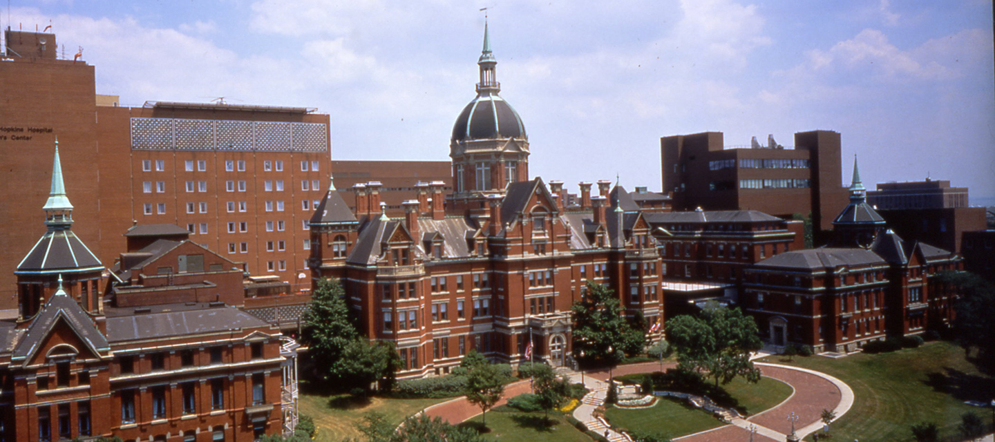 The Billings building at the Johns Hopkins Hospital East Baltimore Campus.