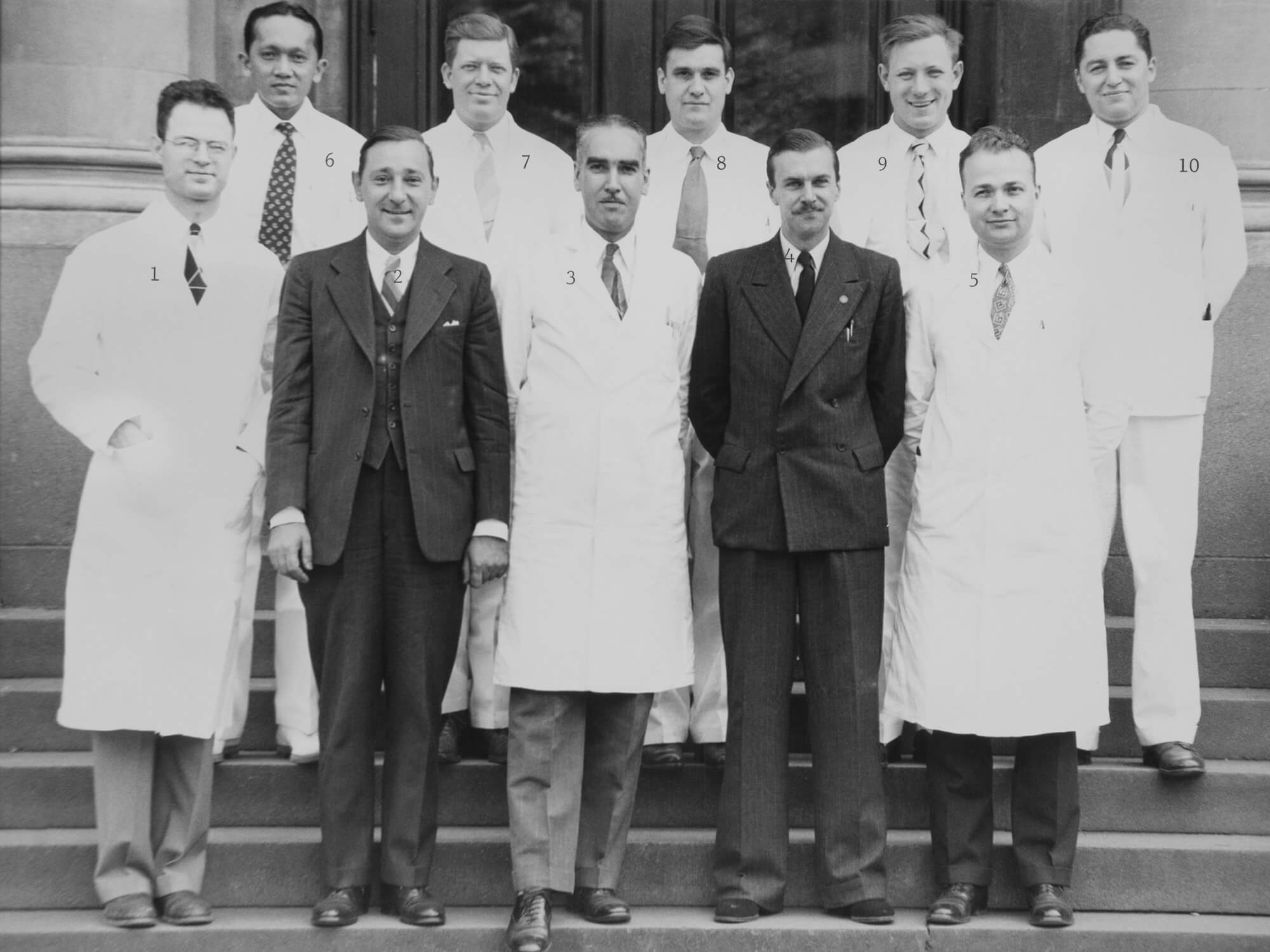 Prefects & Headmaster, Launceston High School, 1948 photo