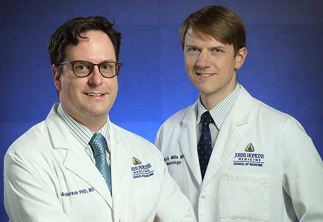 Dr. Mills and Dr. Anderson