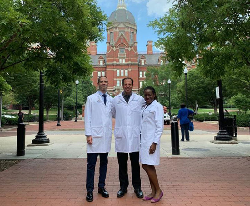Dr. Gordon with 2019-20 fellows