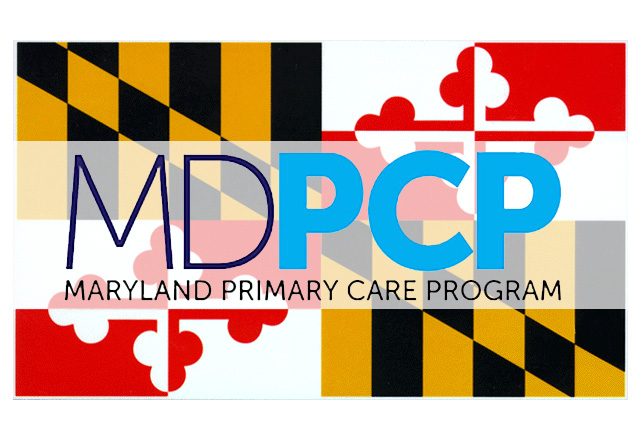 Maryland state flag PCP logo