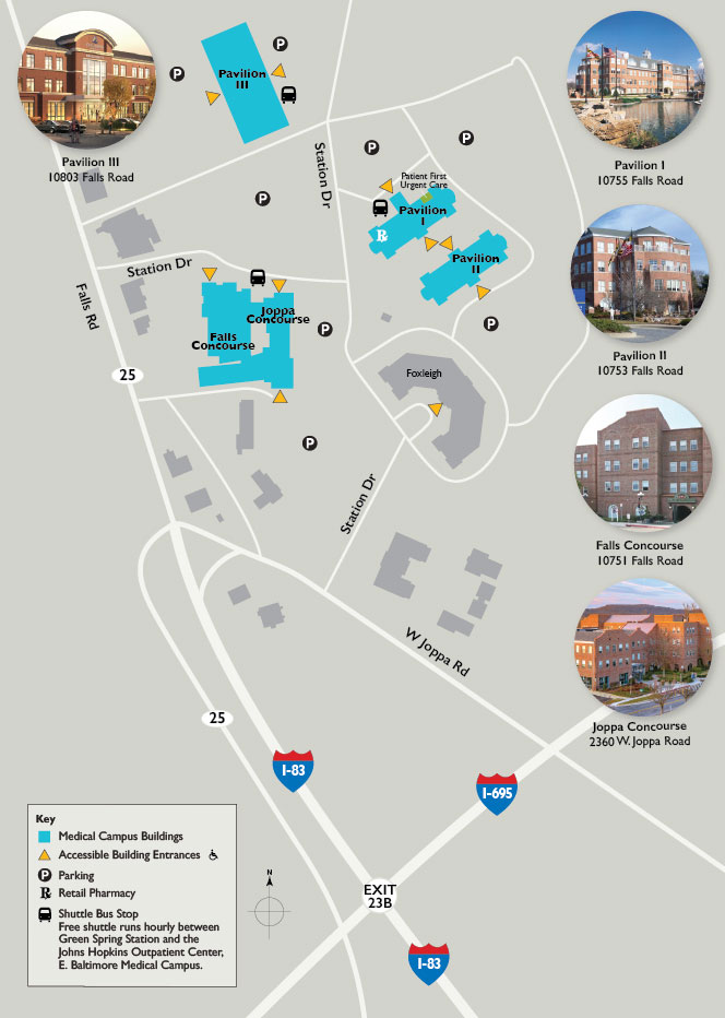 Buildings and Amenities | Johns Hopkins Green Spring Station