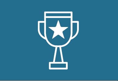 graphic of an award trophy