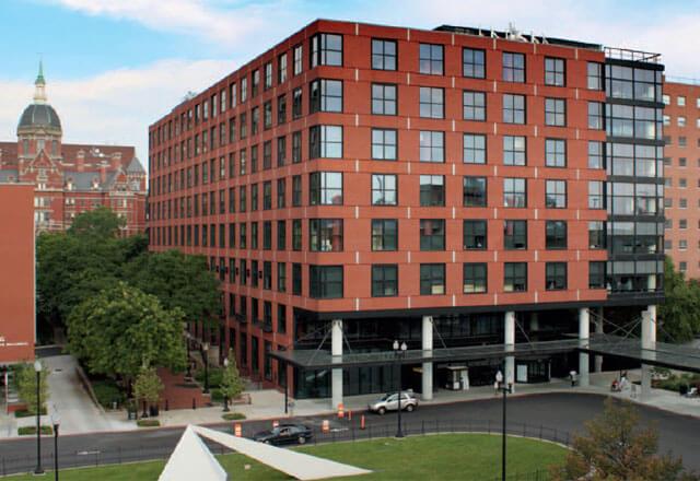 exterior of the Johns Hopkins Outpatient Center