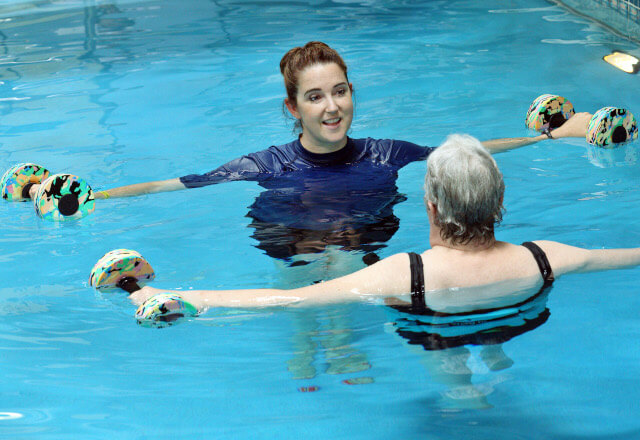 aquatic therapy at acac