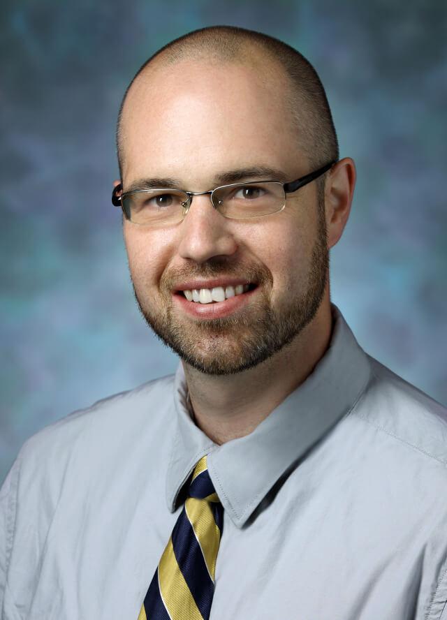 headshot of Erik Hoyer, M.D.