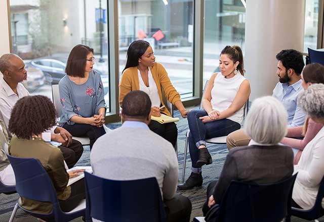 Group program for community psychiatry