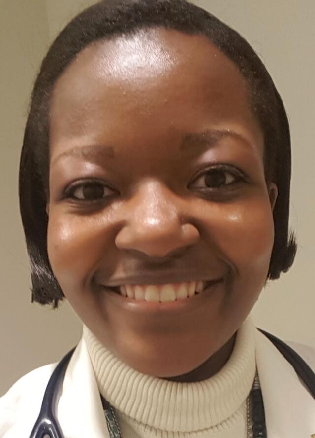 headshot of Afua Asante