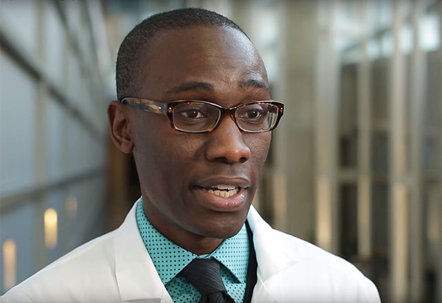 Dr. Oluseyi Aliu discusses lymphedema surgery.