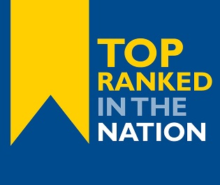 Top ranked in the nation