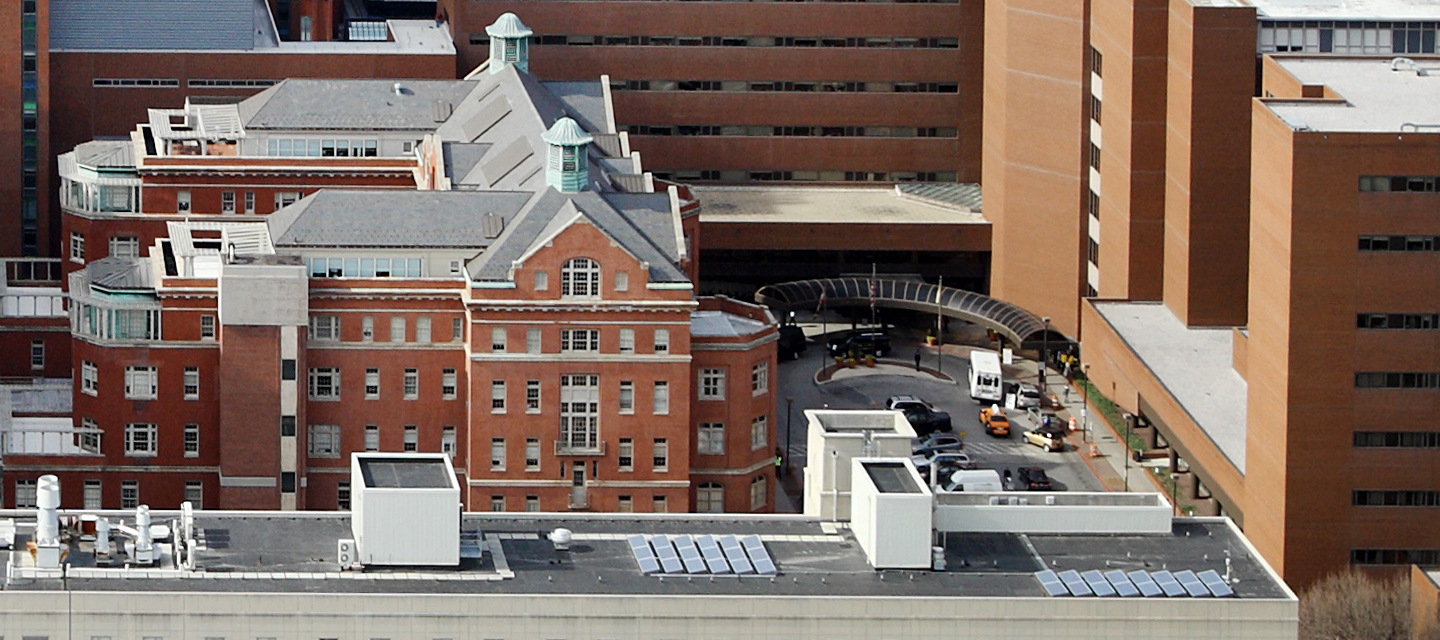 Johns Hopkins Phipps (left) and Meyer buildings (right)