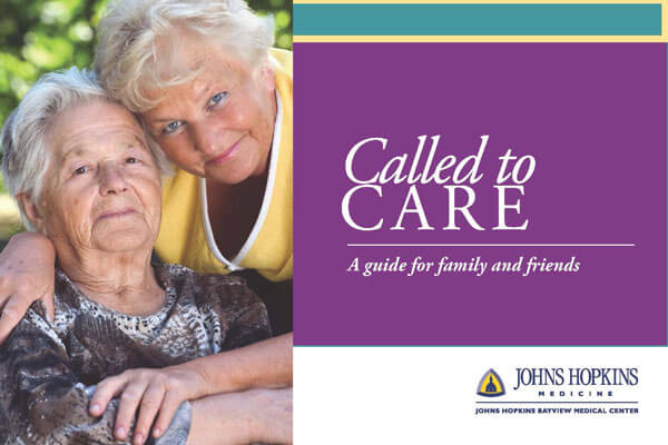 Cover of Called to Care® caregivers booklet
