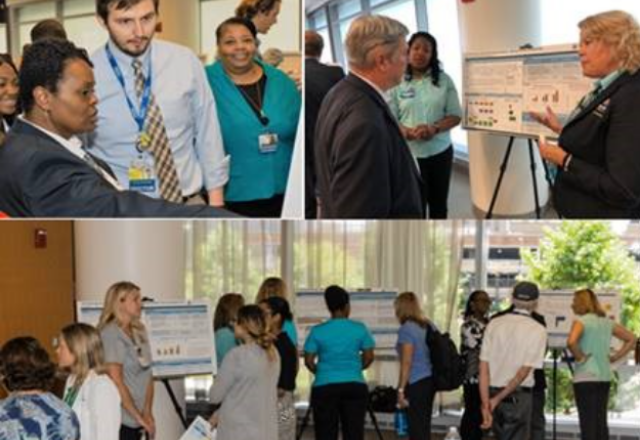 collage of patient safety poster session
