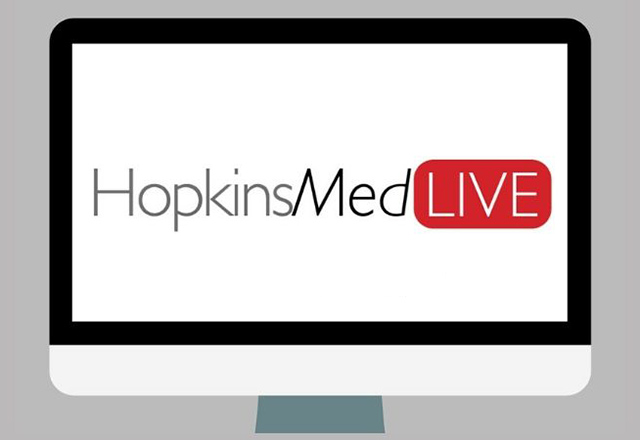 Logo for HopkinsMed Live
