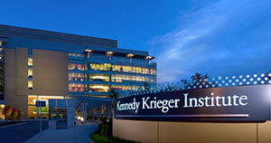 The Kennedy Krieger building.