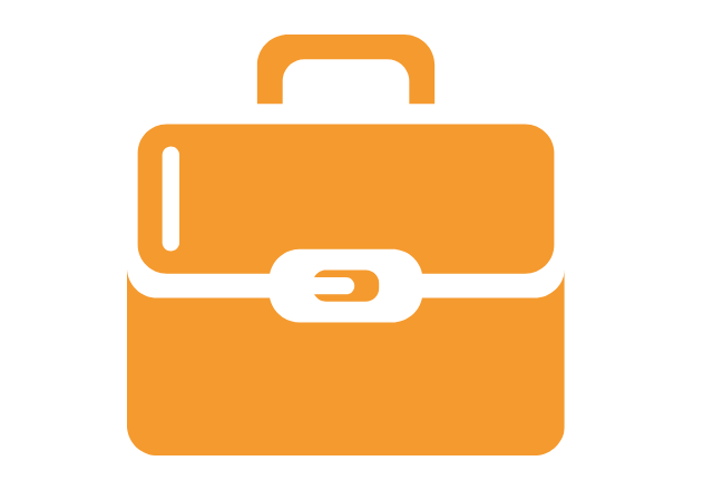 briefcase graphic icon