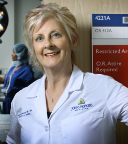 Laurie Saletnik, Director of Nursing for Perioperative Services