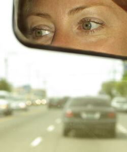 Eyes in a Rearview Mirror