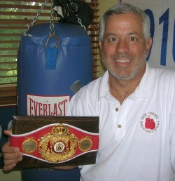 Domenic Coletta is committed to keeping boxers safe.