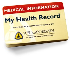 My health record card