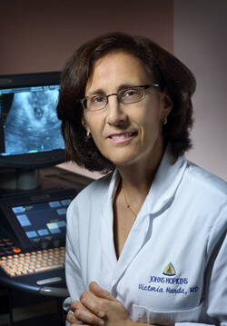 Using 3-D ultrasound, Victoria Handa and colleagues are working to explain certain types of pelvic floor injuries.