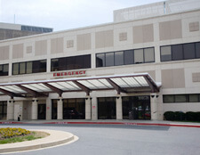 Emergency Room Entrance Howard County