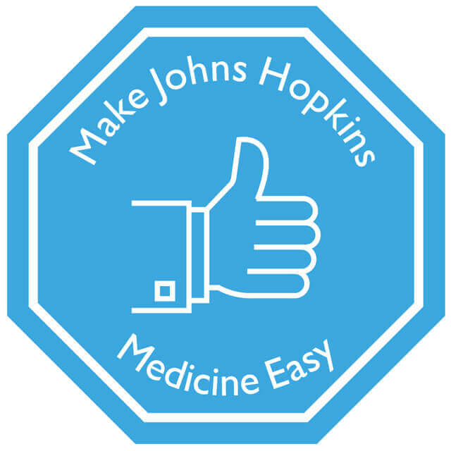 Make Johns Hopkins Medicine Easy