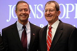 Martin O'Malley and Ron Peterson