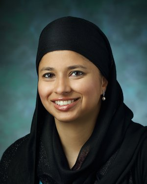 Photo of Dr. Halima Amjad, M.D., M.P.H.