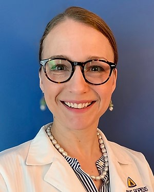 Photo of Dr. Samantha Jean Merck, M.D., M.H.S.