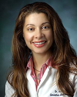 Photo of Dr. Alicia Ines Arbaje, M.D., M.P.H., Ph.D.