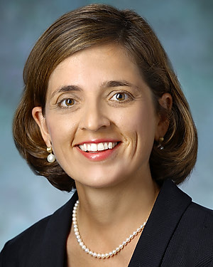 Photo of Dr. Kelly Anne Gebo, M.D., M.P.H.