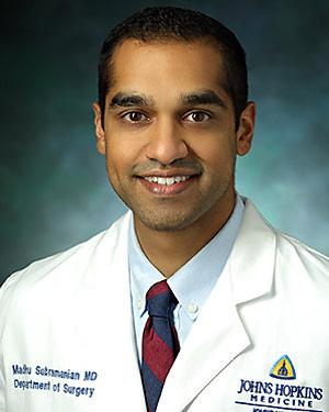 Headshot of Madhu Subramanian