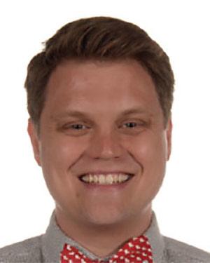 Headshot of Bernard Aldrich Landry-Wegener