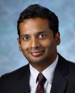 Headshot of Ranjit Abraham Varghese