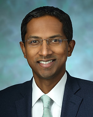 Headshot of Uma Srikumaran