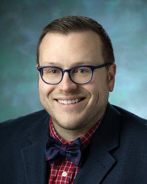Headshot of Mark Albert Marzinke