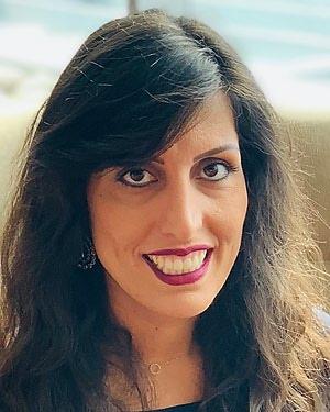 Headshot of Sara Taherkhani