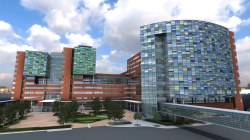 Image of the new facilities at The Johns Hopkins Hospital