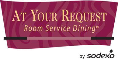 At Your Request - Room Service Dining Logo