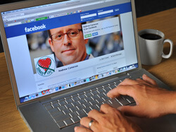 Surgeon Andrew Cameron (pictured) teamed up with Facebook's Sheryl Sandberg to go viral with organ donation.
